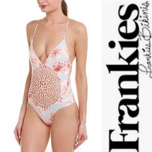 Frankies Bikinis Poppy One Piece WildflowerPink xs